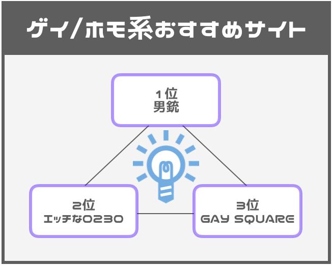 ゲイ/ホモ系おすすめ有料アダルト動画サイト